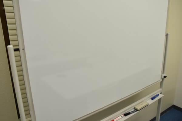 分析に使うホワイトボード